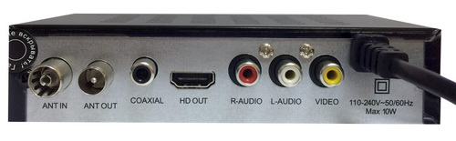Selenga HD860D разъёмы