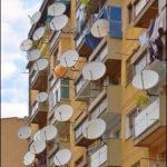 Спутниковое ТВ для нескольких телевизоров.