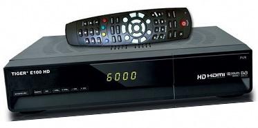 Tiger E100 HD CA CI PVR LAN