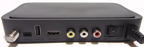 Tiger Х80 HD разъемы