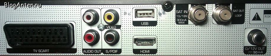 Задняя панель Globo HD X110p