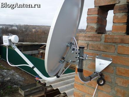 Как крепится кабель к антенне