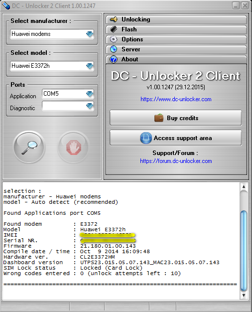 dc-unlocker client