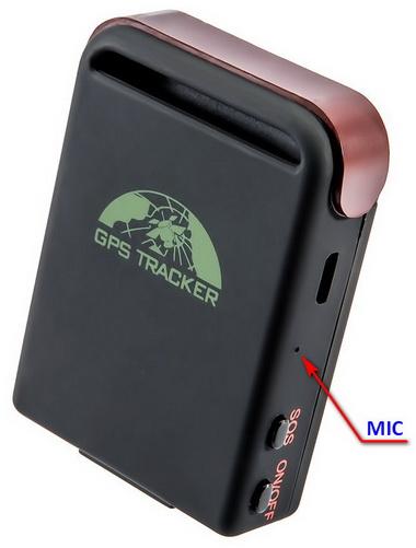 GPS трекер с микрофоном