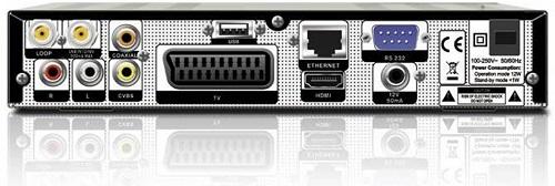 Technosat HD X403p разъемы